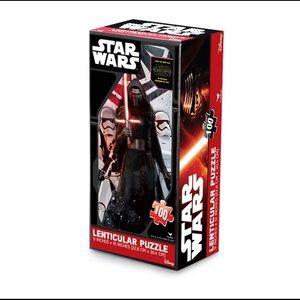 🆕 Disney Star Wars 3D Lenticular Jigsaw Puzzle ⭐️